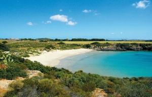 La Bobba is considered the must-go beach in Carloforte San Pietro Island
